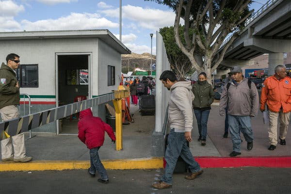 Rule to deter aliens from illegally entering the United States